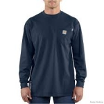 100235 Flame Resistant Force Cotton Long Sleeve-In Store prices May Be Lower Please Call
