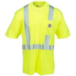 100495 Force High-Visibility Short-Sleeve Class 2 T-shirt-In Store prices May Be Lower Please Call