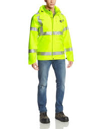 100499 High-Visibility Class 3 WaterProof Jacket-In Store prices May Be Lower Please Call