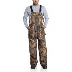 101226 Quilt-Lined Camo Bib Overalls In Store Prices May Be Lower Please Call