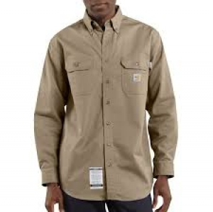 FRS160 Flame Resistant Twill Shirt with Pocket Flaps-In Store prices May Be Lower Please Call