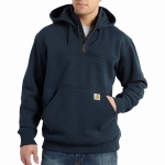 100617-Paxton Heavyweight Hooded Zip Mock Sweatshirt-In Store prices May Be Lower Please Call