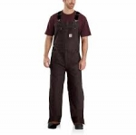 104031 Quilt-Lined Washed Duck Bib Overalls In Store Price May Be Lower Please Call