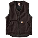 104394 Washed Duck Sherpa-Lined Vest In Store Prices May Be Lower Please Call