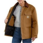 C003 Duck Traditional Coat - Arctic-Quilt Lined- In Store prices May Be Lower Please Call